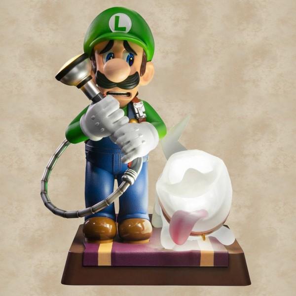 Luigi & Polterpinscher Statue - Luigis Mansion 3