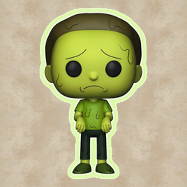 Funko POP! Toxic Morty (Special Edition) - Rick and Morty