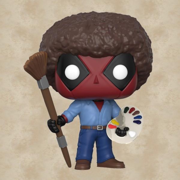 Funko POP! Deadpool as Bob Ross - Deadpool