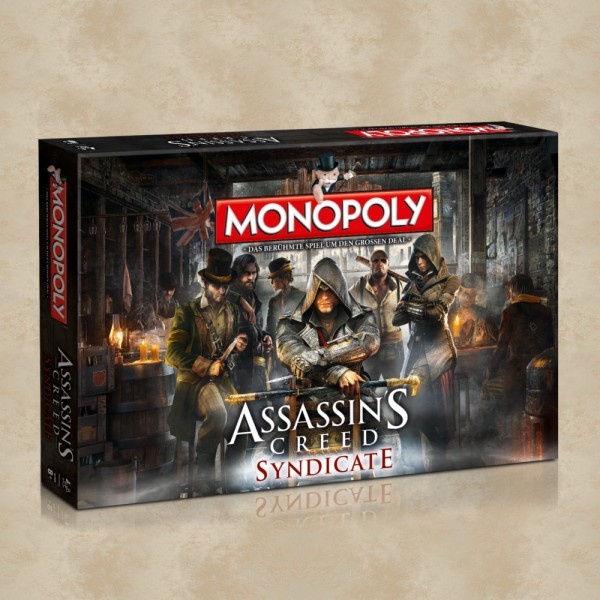 Monopoly Assassins Creed Syndicate (limitert) - Assassins Creed