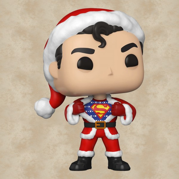 Funko POP! Superman in Holiday Sweater - DC