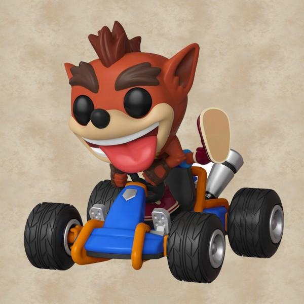 Funko POP! Ride Crash Bandicoot Kart - Crash Team Racing