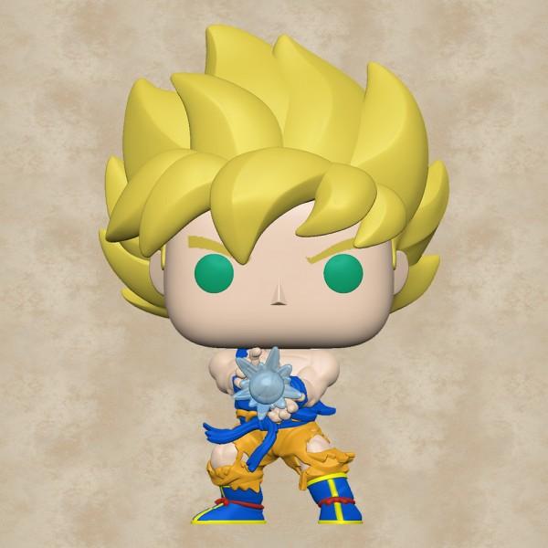 Funko POP! Goku with Kamehameha Wave - Dragon Ball Z