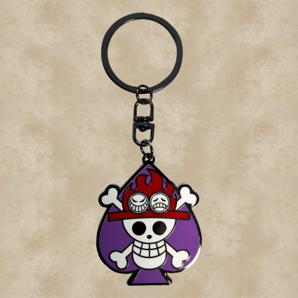 Skull Ace Schlüsselanhänger - One Piece