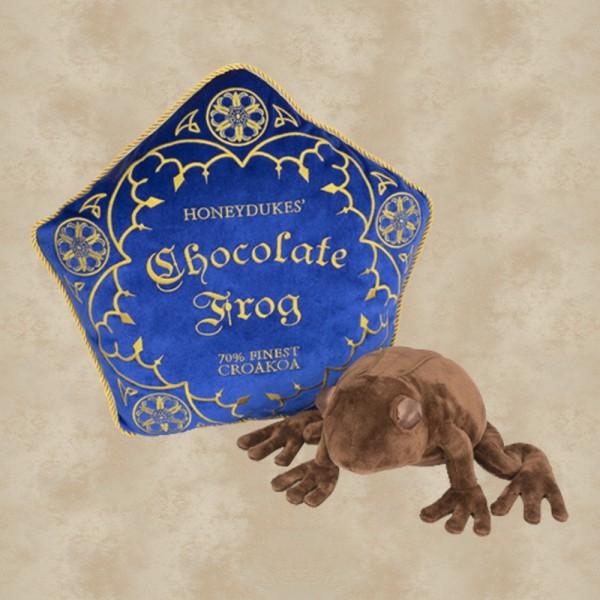 Schokofrosch Kissen und Plüschfigur (37 cm) - Harry Potter
