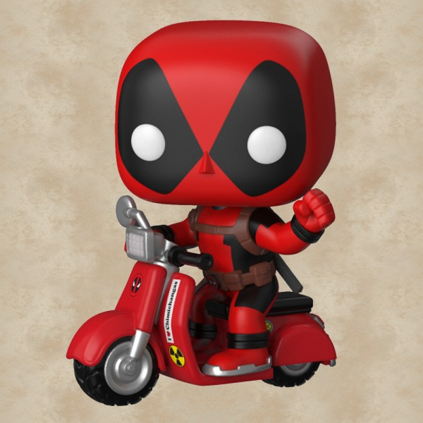 Funko POP! Deadpool on Scooter - Deadpool