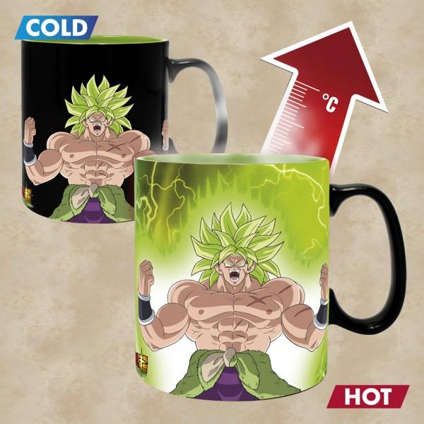Thermoeffekt Tasse Gogeta und Broly - Dragon Ball