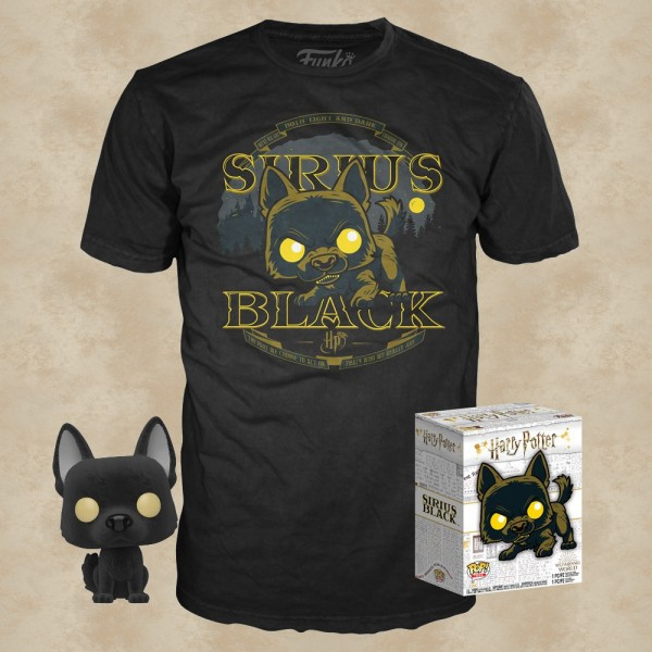 Sirius Black T-Shirt mit Funko POP! - Harry Potter