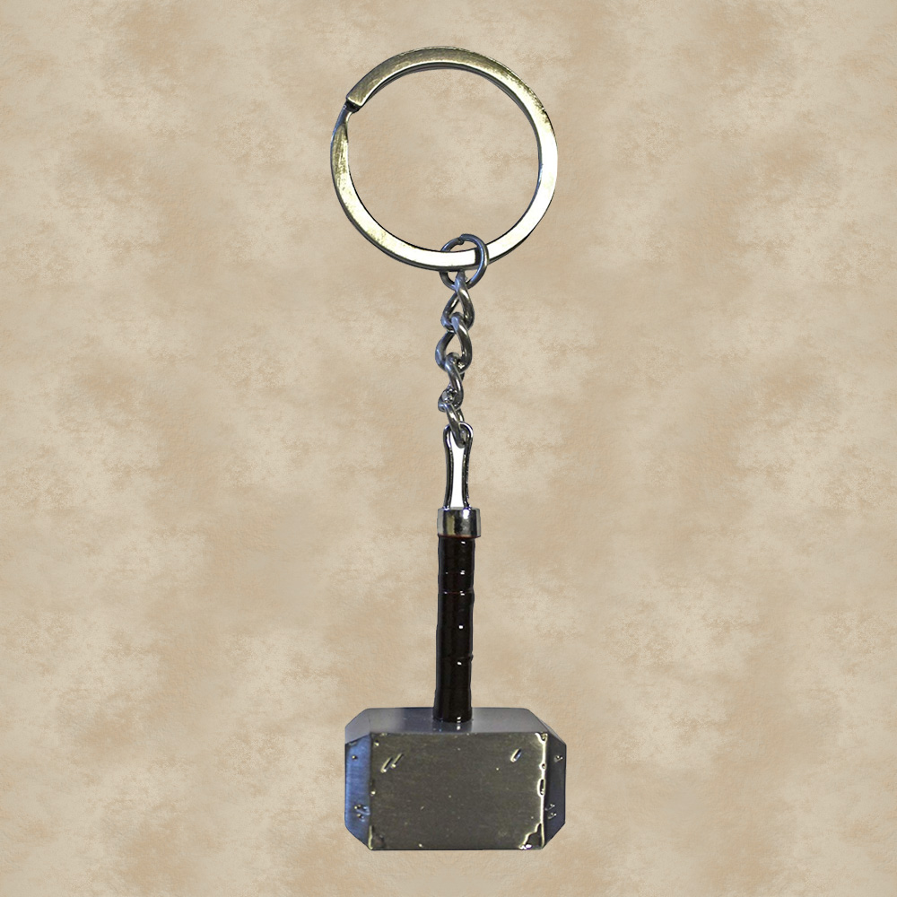 Hammer Mjölnir Schlüsselanhänger aus MetallMARVEL Comics Avengers Thor