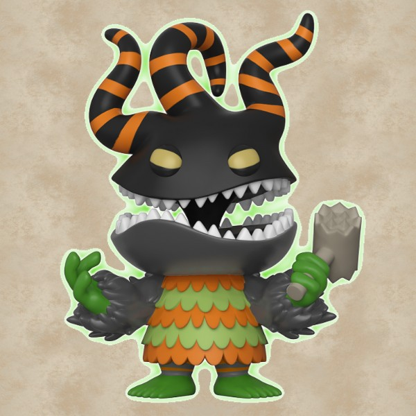 Funko POP! Harlequin Demon (Exclusive) - Nightmare Before Christmas
