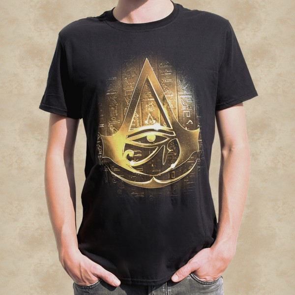Assassins Creed Origins Golden Crest T-Shirt - Assassins Creed