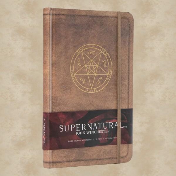 Hardcover Notizbuch John Winchester - Supernatural