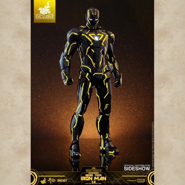 Hot Toys Figur Neon Tech Iron Man - Avengers