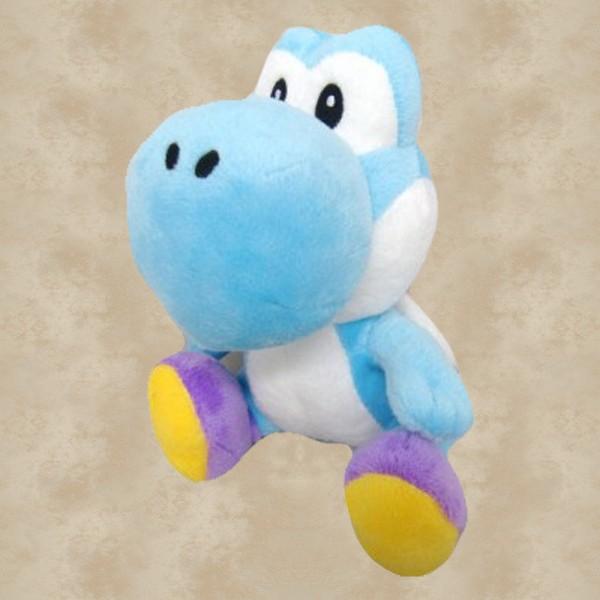 Yoshi Plüschfigur hellblau (16 cm) - Super Mario