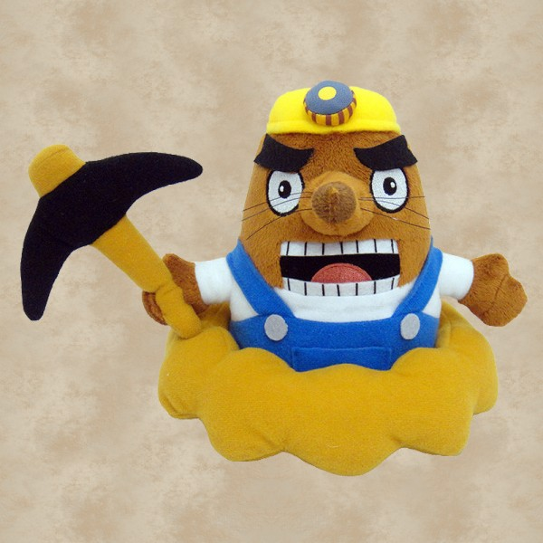 Mr. Resetti Plüschfigur (18 cm) - Animal Crossing