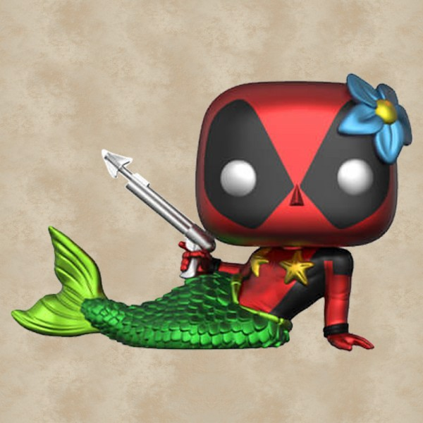 Funko POP! Mermaid Deadpool (Metallic) (Exclusive) - Deadpool