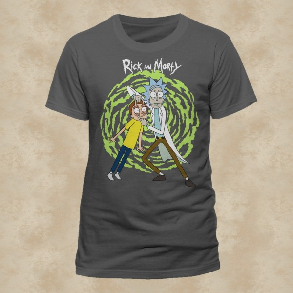 Spiral T-Shirt - Rick and Morty