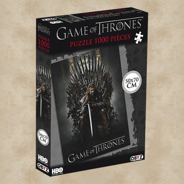 Puzzle Ned Stark (1000 Teile) - Game of Thrones