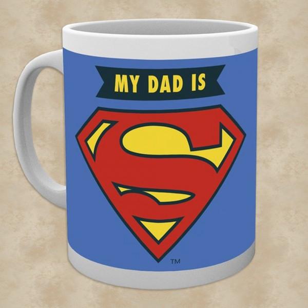 My Dad is Superman Tasse - Superman