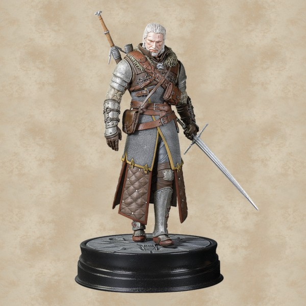 Geralt Statue (Grandmaster Ursine) - The Witcher