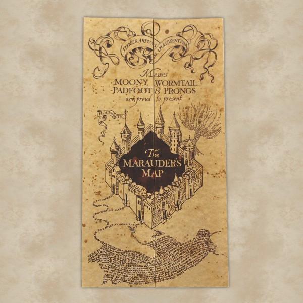 Die Karte des Rumtreibers - Harry Potter