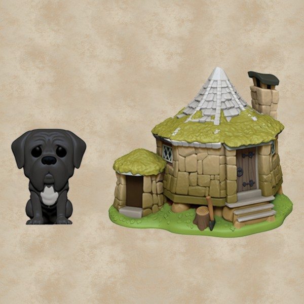 Funko POP! Town: Hagrids Hütte und Fang - Harry Potter
