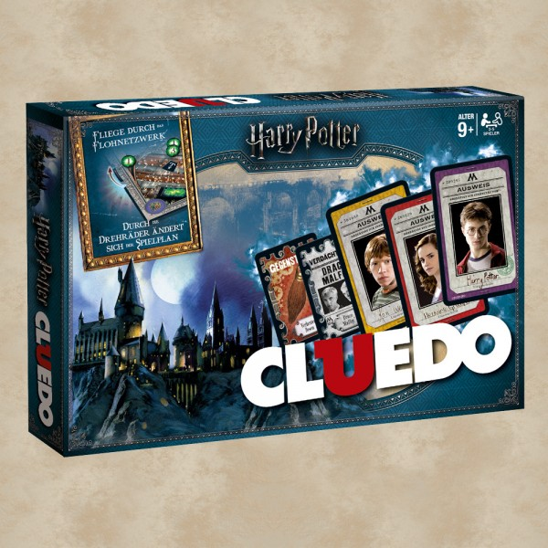Harry Potter Cluedo Brettspiel - Harry Potter