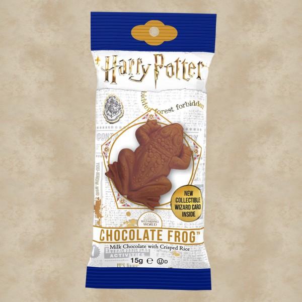 Schokofrosch mit Sammelkarte - Harry Potter