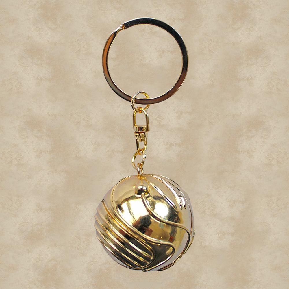 goldener schnatz 3d schlüsselanhänger  harry potter  der