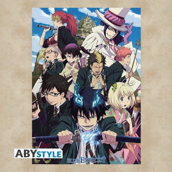 Blue Exorcist Gruppe Maxi Poster