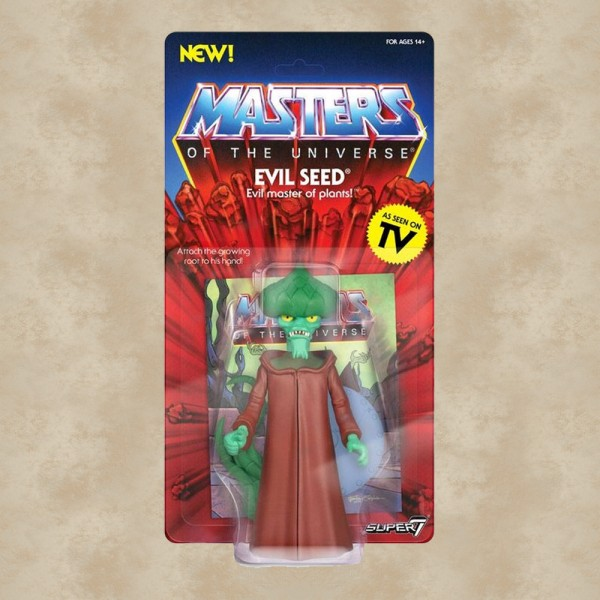 Vintage Actionfigur Evil Seed - Masters of the Universe