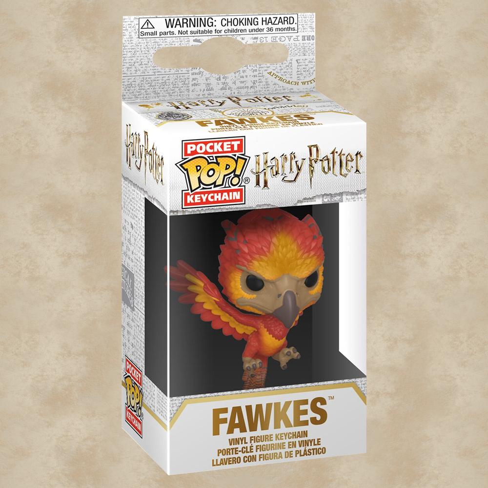 Pocket POP Harry Potter Fawkes Schlüsselanhänger