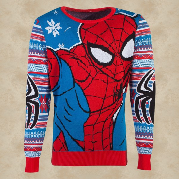 Marvel Spider-Man Weihnachtspullover - Spider-Man
