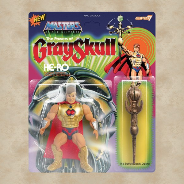 Vintage Actionfigur Grayskull - Masters of the Universe