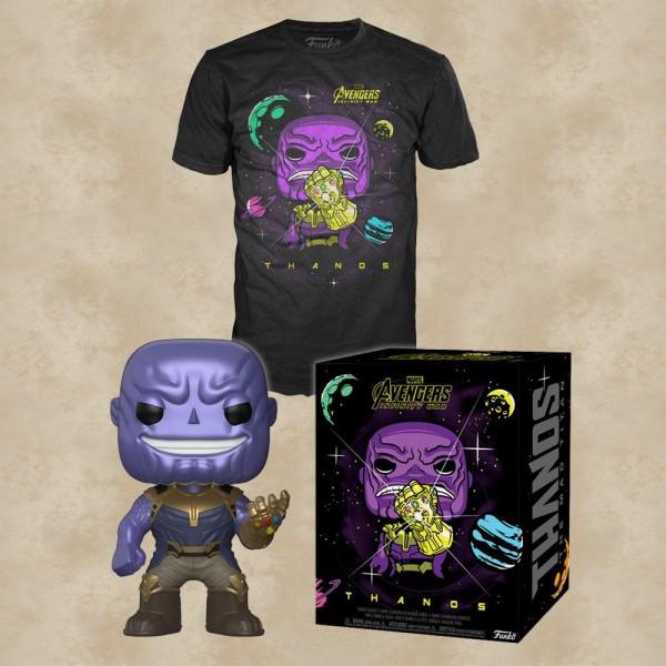 Thanos T-Shirt mit Funko POP! - Marvel