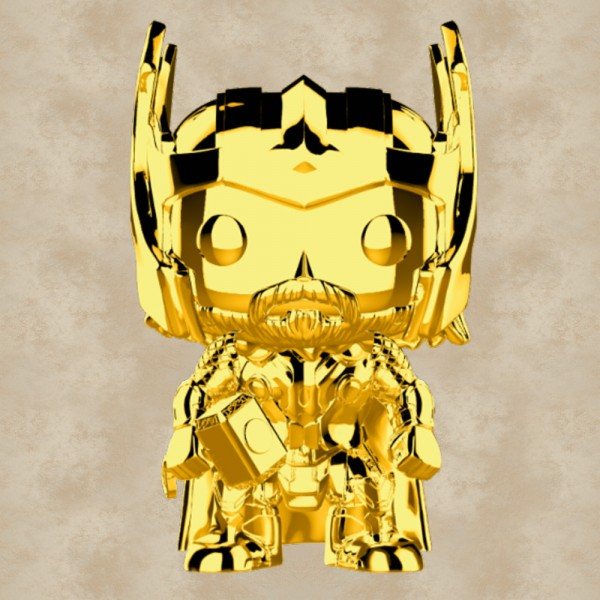 Funko POP! Thor (Gold Chrome) - Marvel