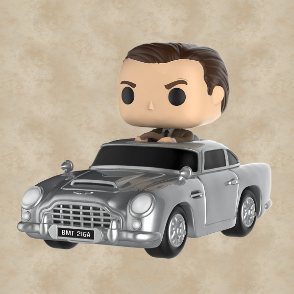 Funko POP! James Bond und Aston Martin DB5