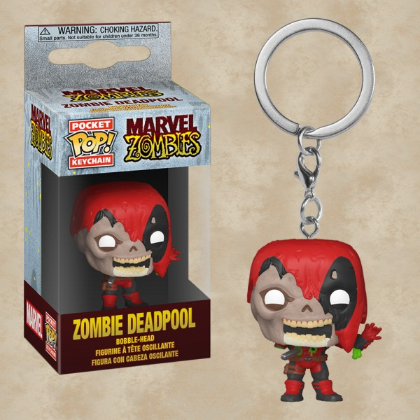 Pocket POP! Zombie Deadpool - Marvel