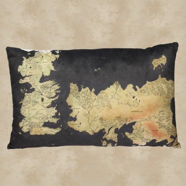 Westeros & Essos Karte Kissen - Game of Thrones