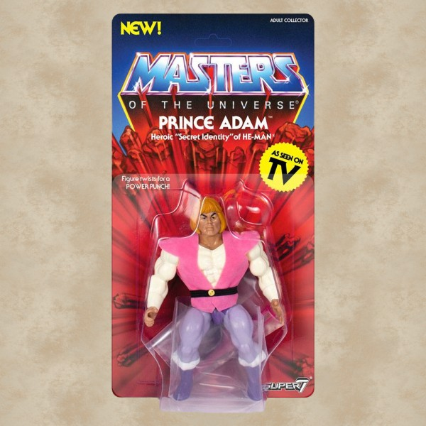 Vintage Actionfigur Prince Adam - Masters of the Universe
