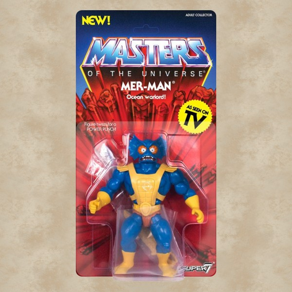 Vintage Actionfigur Mer-Man - Masters of the Universe