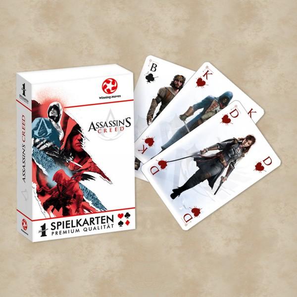 Assassins Creed Number1 Spielkarten