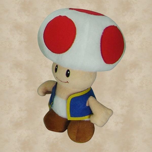 Toad Plüschfigur (18 cm) - Super Mario