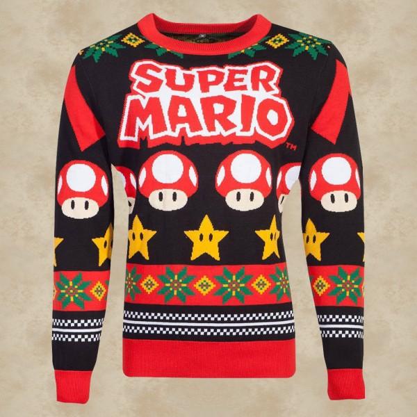 Nintendo Super Mario Weihnachtspullover - Nintendo