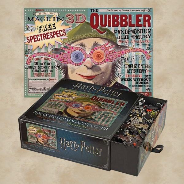 Puzzle Quibbler Magazin Cover - Harry Potter