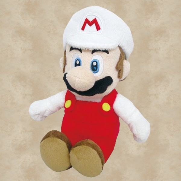 Feuer Mario Plüschfigur - Super Mario