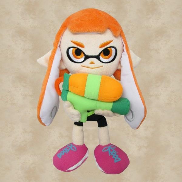 Splatoon Inkling Girl Orange Plüschfigur (23 cm) - Nintendo