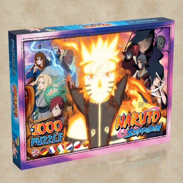 Naruto Shippuden Puzzle (1000 Teile)
