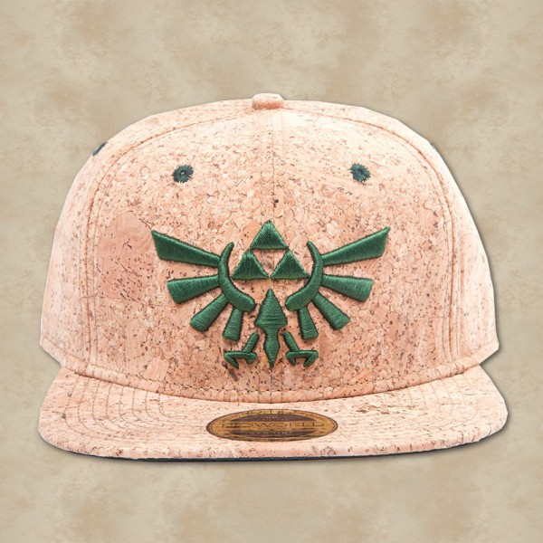 Zelda Triforce Logo Kork Snapback - Zelda