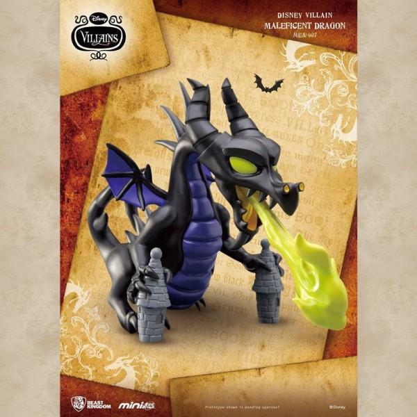 Disney Villains Maleficent Dragon Mini Egg Attack Figur - Disney